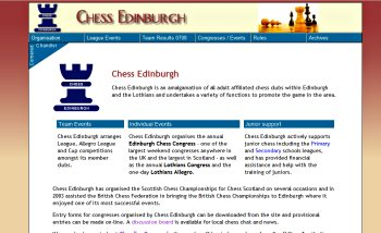 Chess Edinburgh screenshot